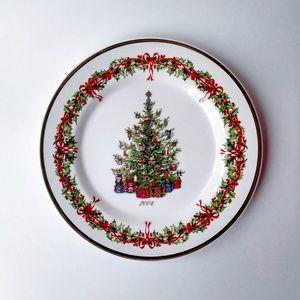 "Christopher Radko 2004 Christmas Plate 8"""